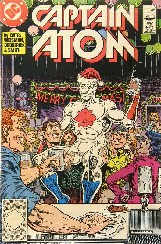 Cover of Captain Atom (DC) (Vol 1) #13. One of 250,000 Vintage American Comics on sale from Krypton!