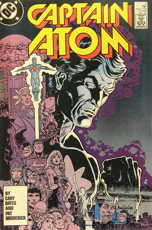 Cover of Captain Atom (DC) (Vol 1) #2. One of 250,000 Vintage American Comics on sale from Krypton!