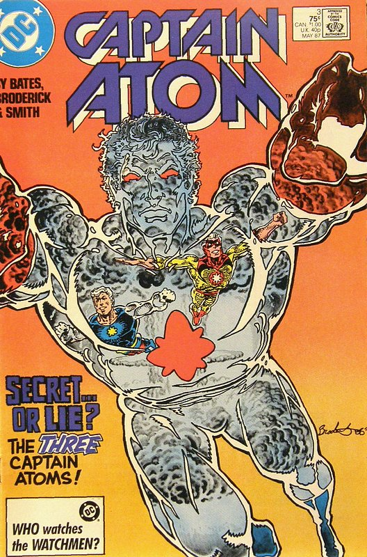 Cover of Captain Atom (DC) (Vol 1) #3. One of 250,000 Vintage American Comics on sale from Krypton!