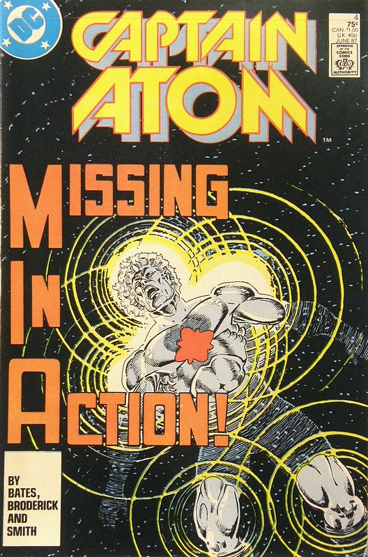 Cover of Captain Atom (DC) (Vol 1) #4. One of 250,000 Vintage American Comics on sale from Krypton!