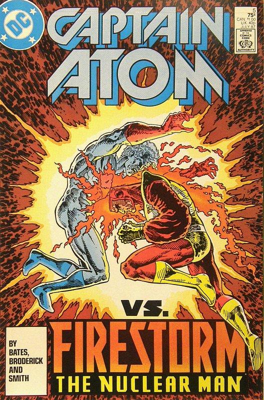Cover of Captain Atom (DC) (Vol 1) #5. One of 250,000 Vintage American Comics on sale from Krypton!