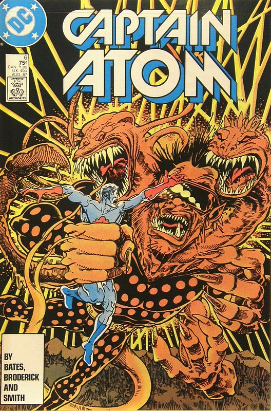 Cover of Captain Atom (DC) (Vol 1) #6. One of 250,000 Vintage American Comics on sale from Krypton!