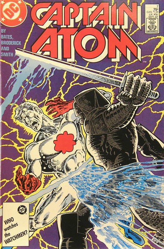 Cover of Captain Atom (DC) (Vol 1) #7. One of 250,000 Vintage American Comics on sale from Krypton!