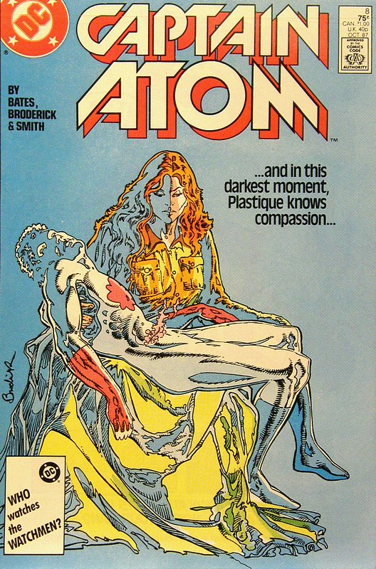 Cover of Captain Atom (DC) (Vol 1) #8. One of 250,000 Vintage American Comics on sale from Krypton!