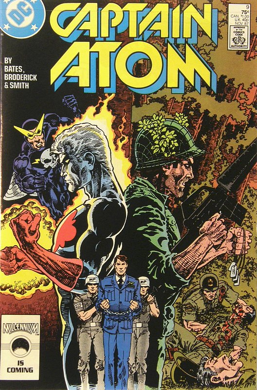Cover of Captain Atom (DC) (Vol 1) #9. One of 250,000 Vintage American Comics on sale from Krypton!