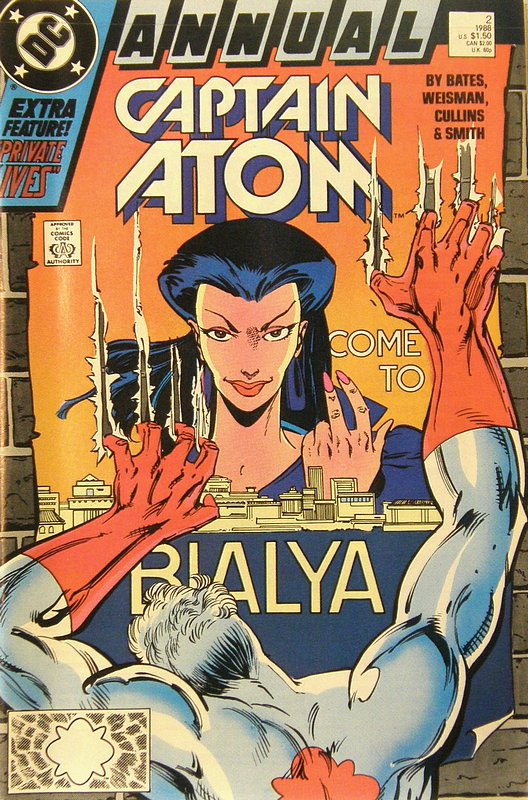 Cover of Captain Atom Annual #2. One of 250,000 Vintage American Comics on sale from Krypton!