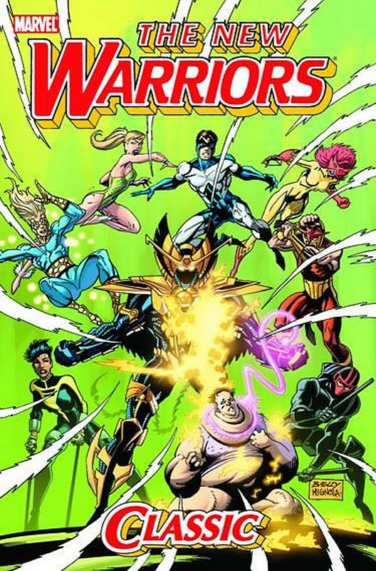 Cover of New Warriors Classic (GN) (Softback) #2. One of 250,000 Vintage American Comics on sale from Krypton!
