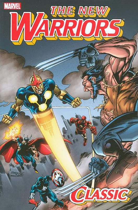 Cover of New Warriors Classic (GN) (Softback) #3. One of 250,000 Vintage American Comics on sale from Krypton!