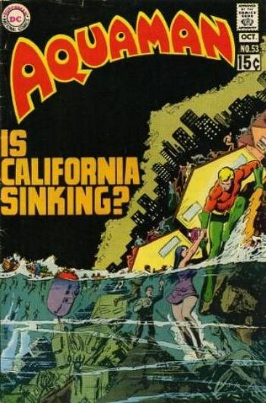 Cover of Aquaman (Vol 1) #53. One of 250,000 Vintage American Comics on sale from Krypton!