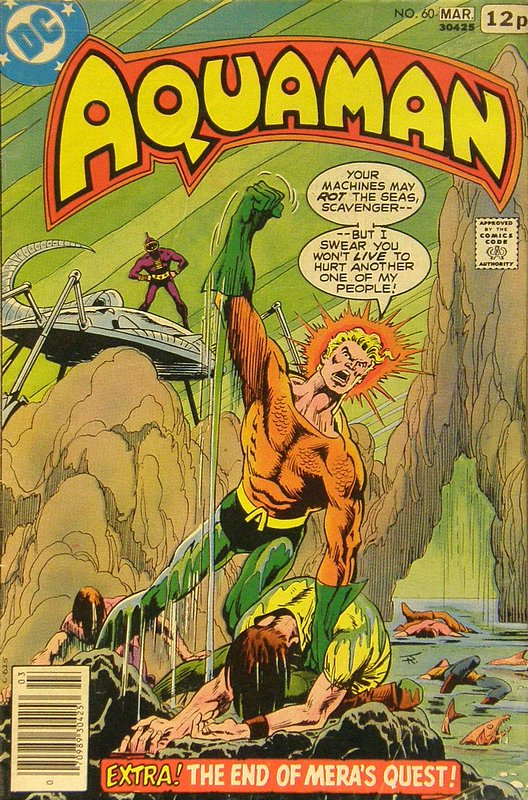 Cover of Aquaman (Vol 1) #60. One of 250,000 Vintage American Comics on sale from Krypton!
