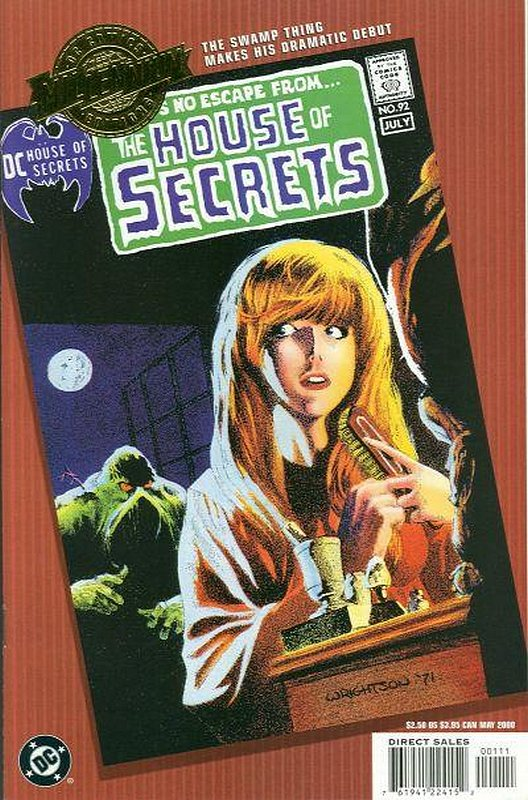 Cover of House of Secrets #92 (Millennium Edition) #1. One of 250,000 Vintage American Comics on sale from Krypton!