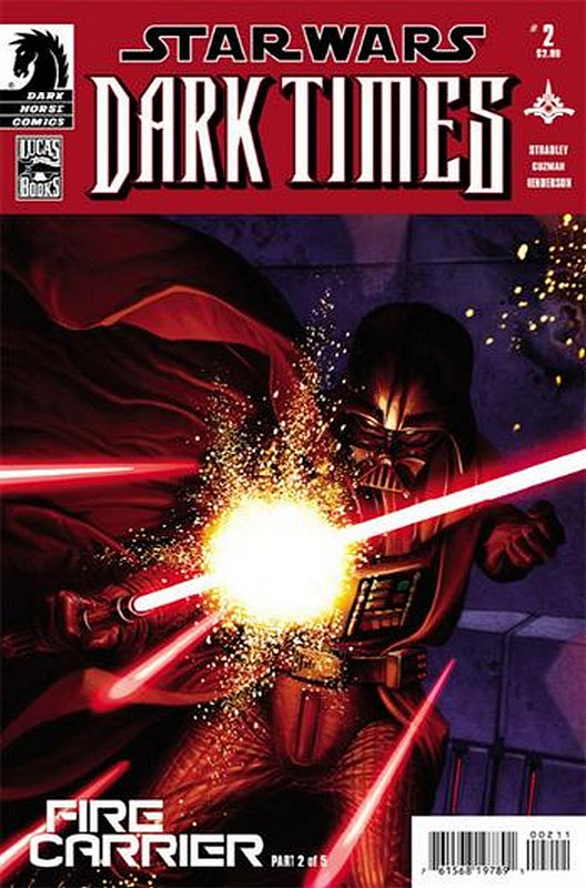 Cover of Star Wars: Dark Times - Fire Carrier (2013 Ltd) #2. One of 250,000 Vintage American Comics on sale from Krypton!