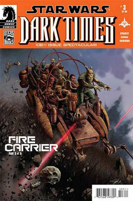 Cover of Star Wars: Dark Times - Fire Carrier (2013 Ltd) #3. One of 250,000 Vintage American Comics on sale from Krypton!