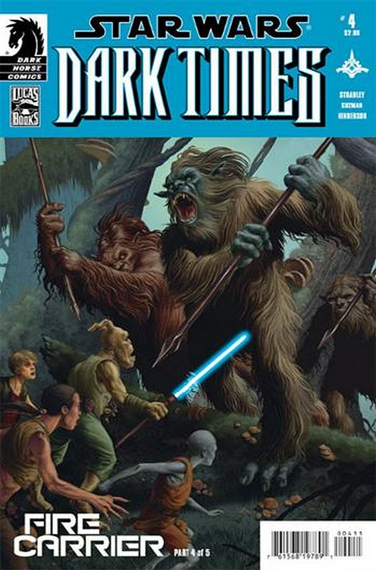Cover of Star Wars: Dark Times - Fire Carrier (2013 Ltd) #4. One of 250,000 Vintage American Comics on sale from Krypton!