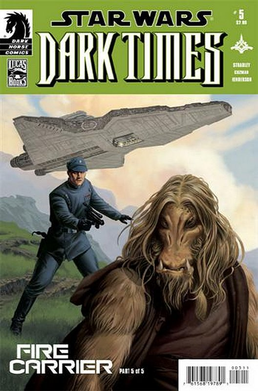 Cover of Star Wars: Dark Times - Fire Carrier (2013 Ltd) #5. One of 250,000 Vintage American Comics on sale from Krypton!
