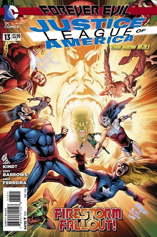 Cover of Justice League of America (Vol 3) #13. One of 250,000 Vintage American Comics on sale from Krypton!