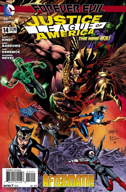 Cover of Justice League of America (Vol 3) #14. One of 250,000 Vintage American Comics on sale from Krypton!