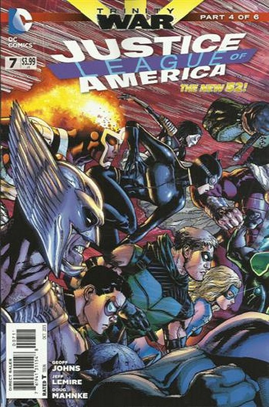 Cover of Justice League of America (Vol 3) #7. One of 250,000 Vintage American Comics on sale from Krypton!