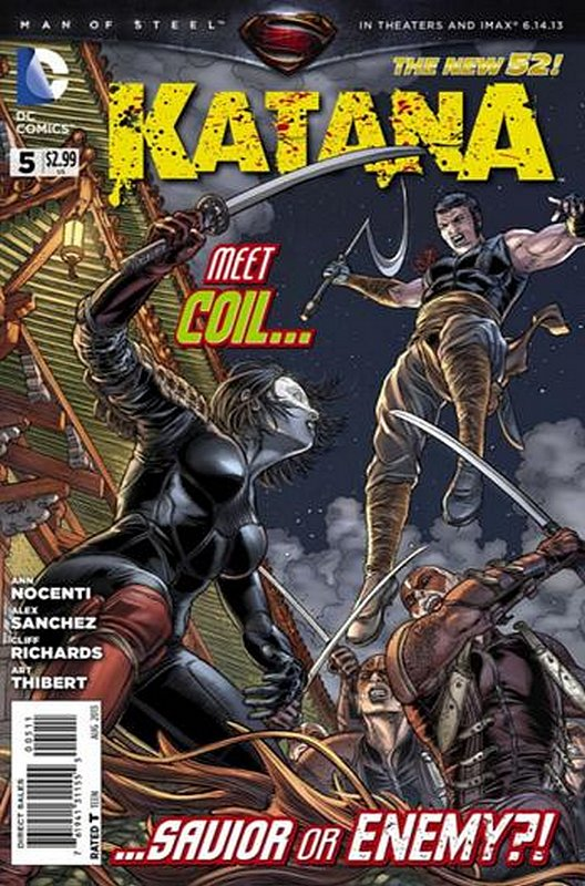 Cover of Katana (Vol 1) #5. One of 250,000 Vintage American Comics on sale from Krypton!