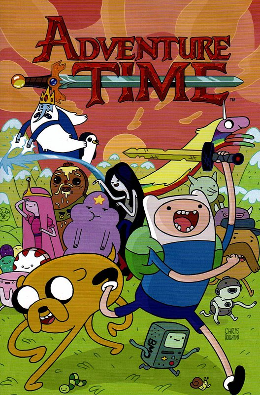 Cover of Adventure Time (GN) (Softback) #2. One of 250,000 Vintage American Comics on sale from Krypton!