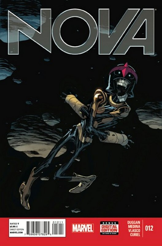 Cover of Nova (Vol 5) #12. One of 250,000 Vintage American Comics on sale from Krypton!