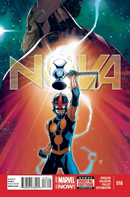 Cover of Nova (Vol 5) #16. One of 250,000 Vintage American Comics on sale from Krypton!