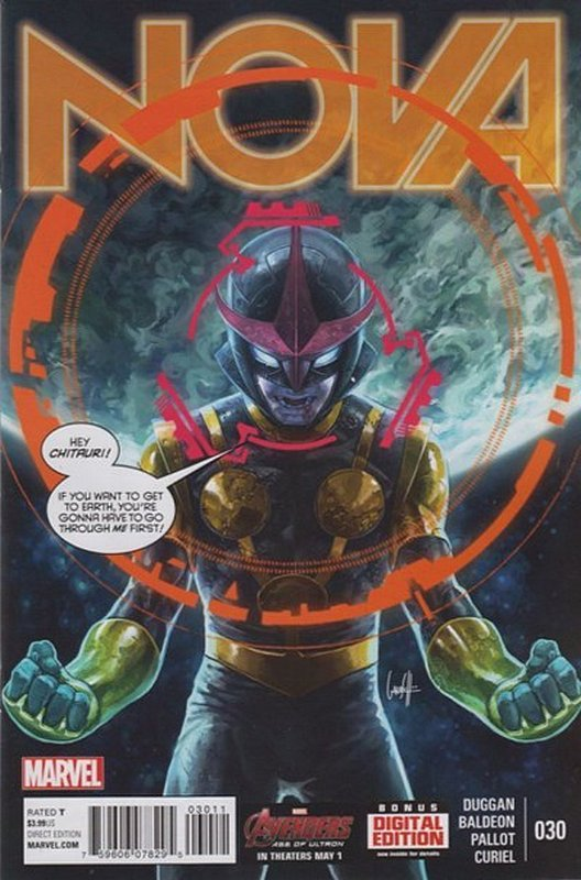 Cover of Nova (Vol 5) #30. One of 250,000 Vintage American Comics on sale from Krypton!