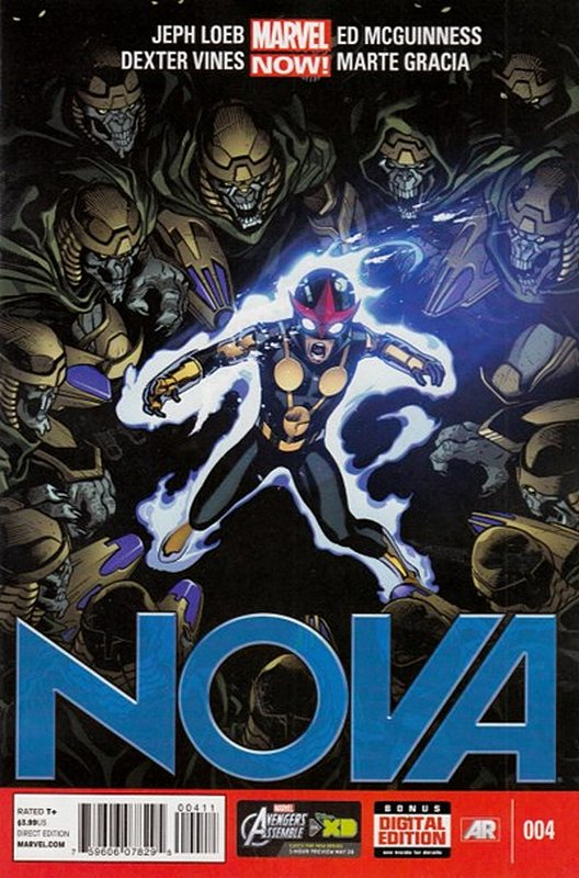 Cover of Nova (Vol 5) #4. One of 250,000 Vintage American Comics on sale from Krypton!