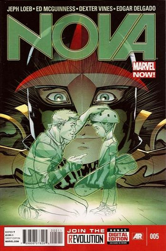 Cover of Nova (Vol 5) #5. One of 250,000 Vintage American Comics on sale from Krypton!