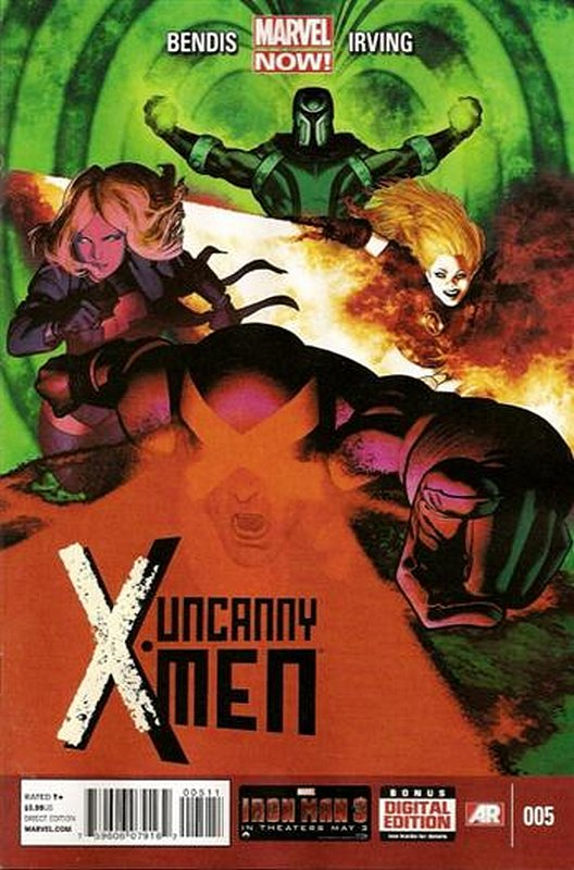 Cover of Uncanny X-Men (Vol 3) #5. One of 250,000 Vintage American Comics on sale from Krypton!