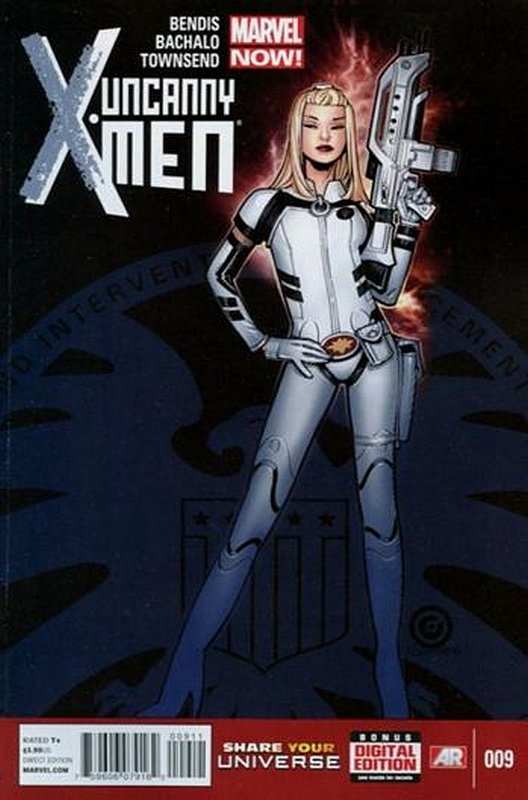 Cover of Uncanny X-Men (Vol 3) #9. One of 250,000 Vintage American Comics on sale from Krypton!