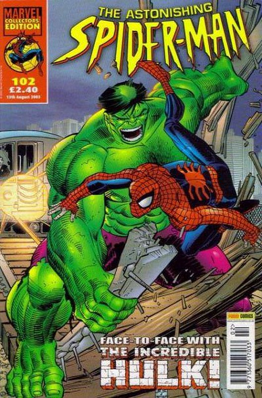 Cover of Astonishing Spider-Man (Vol 1) (UK) #102. One of 250,000 Vintage American Comics on sale from Krypton!