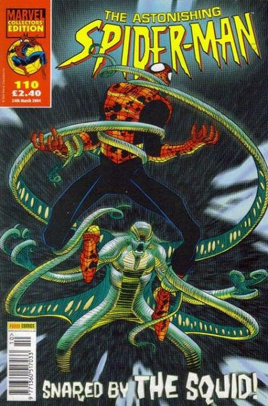 Cover of Astonishing Spider-Man (Vol 1) (UK) #110. One of 250,000 Vintage American Comics on sale from Krypton!