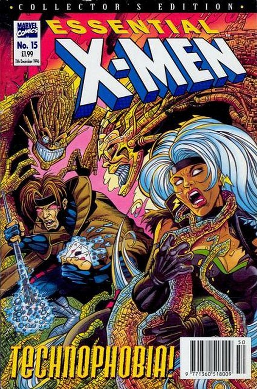 Cover of Essential X-Men (Vol 1) (UK) #15. One of 250,000 Vintage American Comics on sale from Krypton!