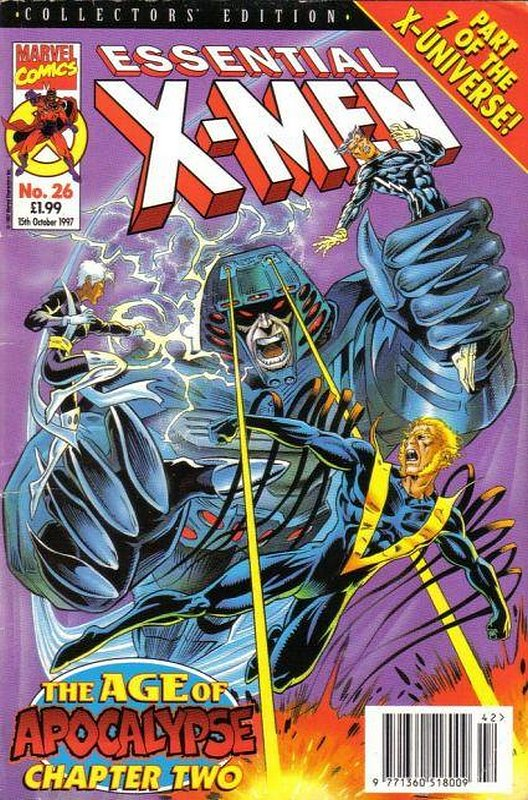 Cover of Essential X-Men (Vol 1) (UK) #26. One of 250,000 Vintage American Comics on sale from Krypton!