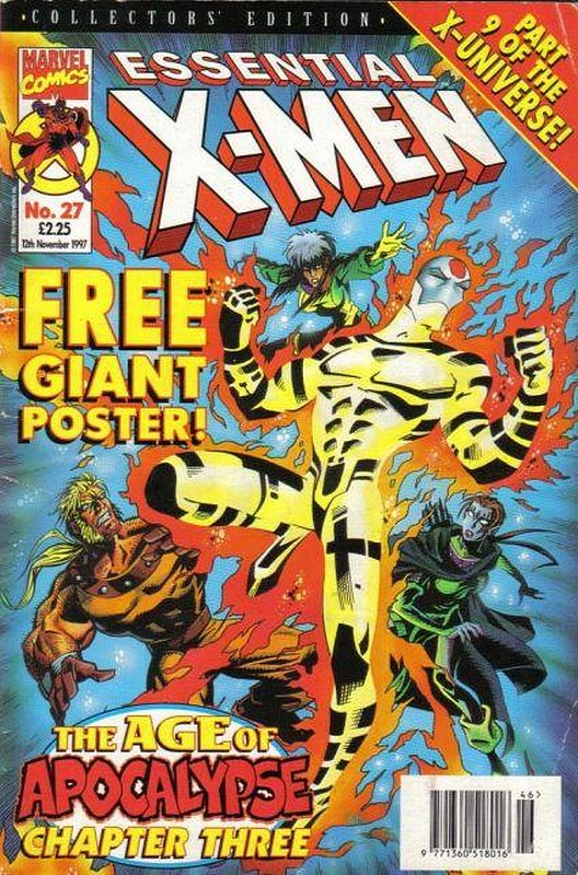 Cover of Essential X-Men (Vol 1) (UK) #27. One of 250,000 Vintage American Comics on sale from Krypton!