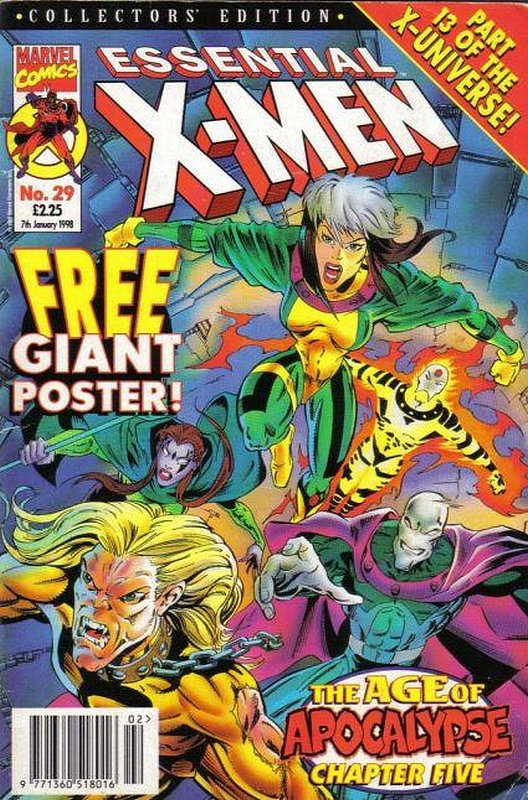 Cover of Essential X-Men (Vol 1) (UK) #29. One of 250,000 Vintage American Comics on sale from Krypton!