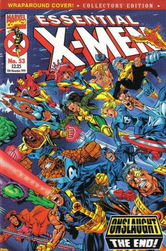 Cover of Essential X-Men (Vol 1) (UK) #53. One of 250,000 Vintage American Comics on sale from Krypton!