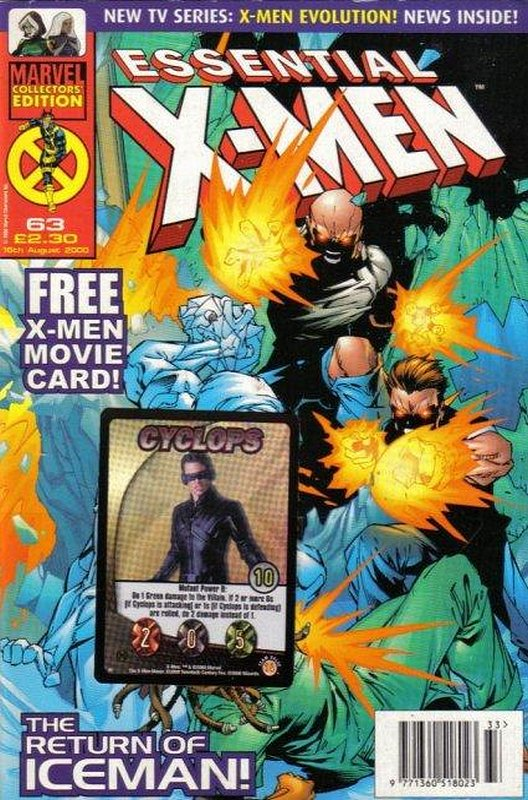 Cover of Essential X-Men (Vol 1) (UK) #63. One of 250,000 Vintage American Comics on sale from Krypton!