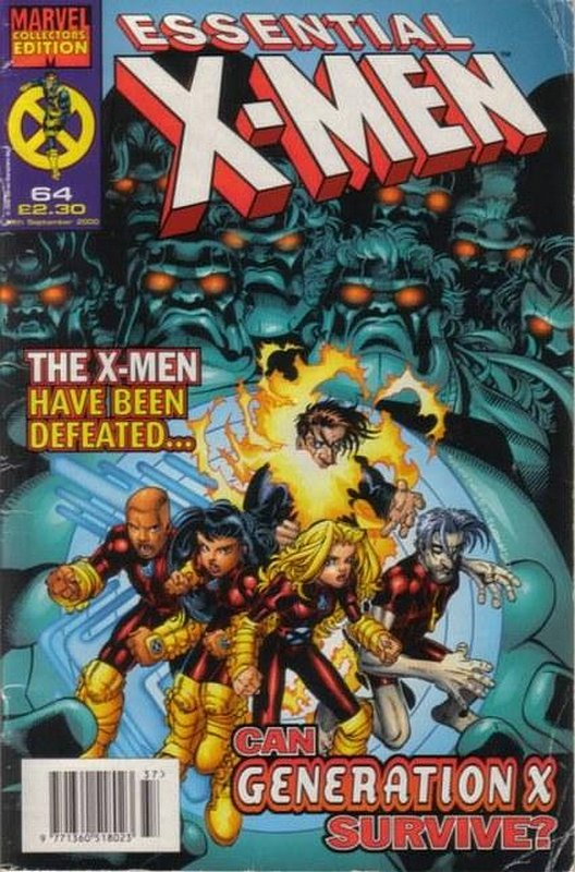 Cover of Essential X-Men (Vol 1) (UK) #64. One of 250,000 Vintage American Comics on sale from Krypton!