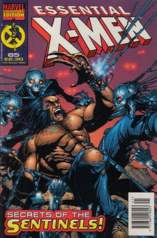 Cover of Essential X-Men (Vol 1) (UK) #65. One of 250,000 Vintage American Comics on sale from Krypton!