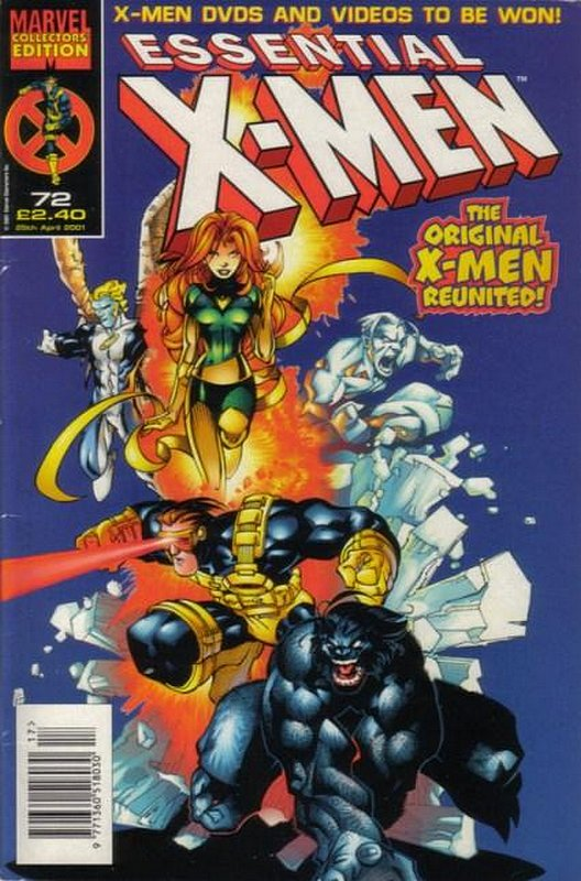Cover of Essential X-Men (Vol 1) (UK) #72. One of 250,000 Vintage American Comics on sale from Krypton!