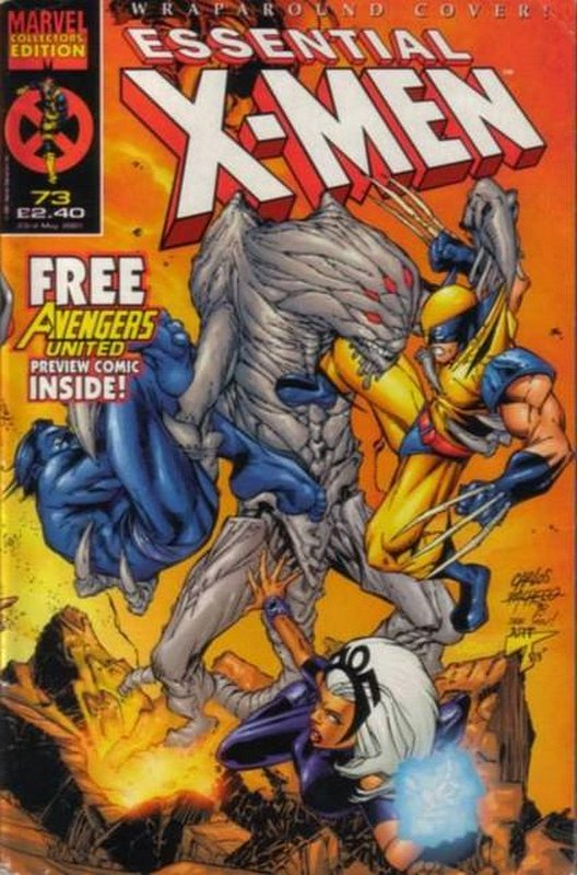 Cover of Essential X-Men (Vol 1) (UK) #73. One of 250,000 Vintage American Comics on sale from Krypton!