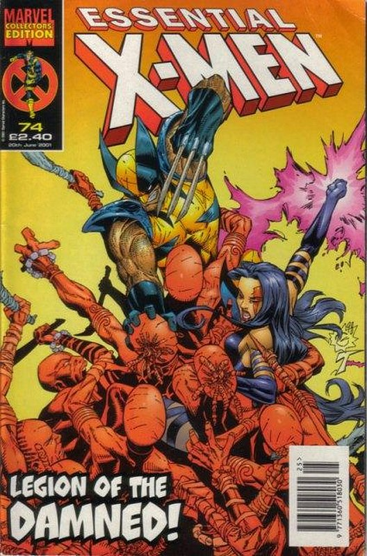 Cover of Essential X-Men (Vol 1) (UK) #74. One of 250,000 Vintage American Comics on sale from Krypton!