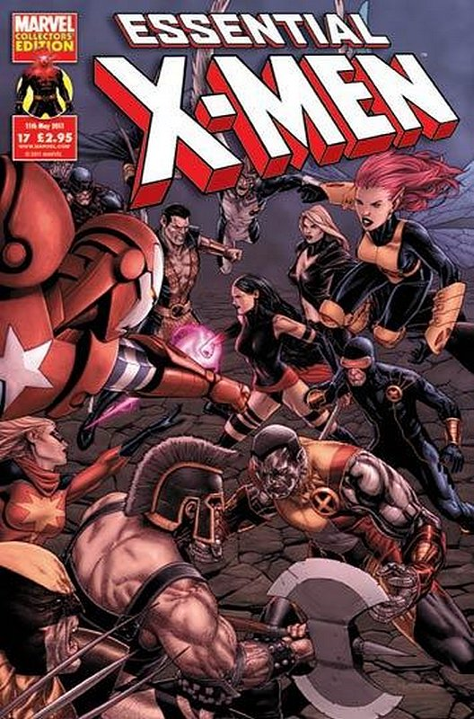 Cover of Essential X-Men (Vol 2) (UK) #17. One of 250,000 Vintage American Comics on sale from Krypton!