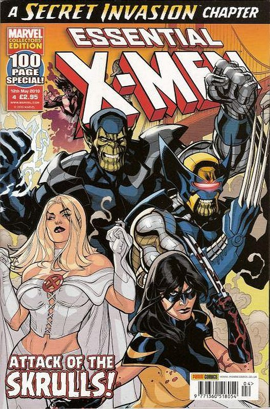 Cover of Essential X-Men (Vol 2) (UK) #4. One of 250,000 Vintage American Comics on sale from Krypton!