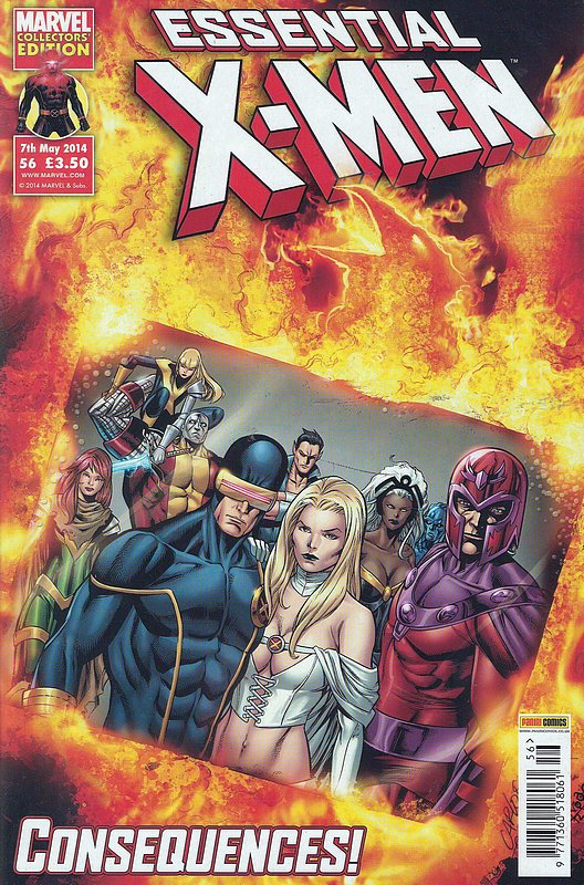 Cover of Essential X-Men (Vol 2) (UK) #56. One of 250,000 Vintage American Comics on sale from Krypton!