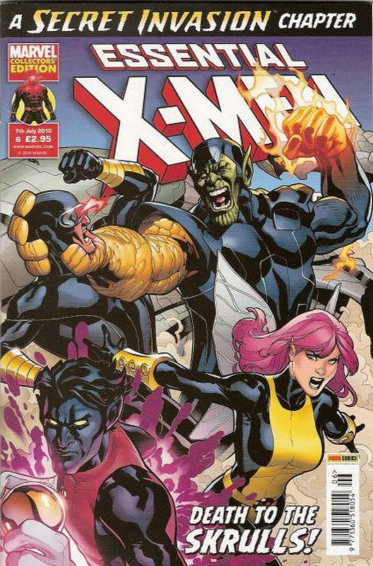 Cover of Essential X-Men (Vol 2) (UK) #6. One of 250,000 Vintage American Comics on sale from Krypton!