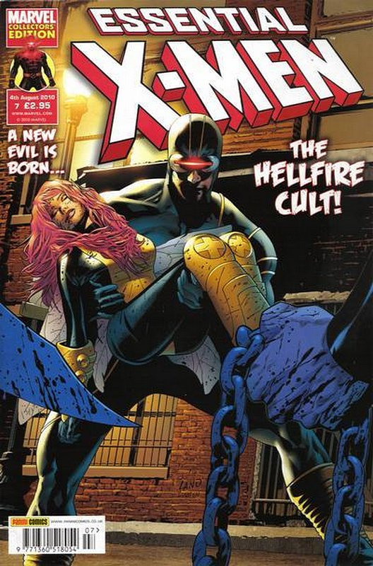 Cover of Essential X-Men (Vol 2) (UK) #7. One of 250,000 Vintage American Comics on sale from Krypton!