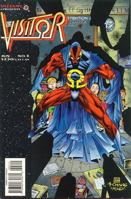 Cover of Visitor (Vol 1) The #3. One of 250,000 Vintage American Comics on sale from Krypton!